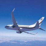 {:sq}Drejtoria e aeroplanit / Boeing Business Jet (BBJ)