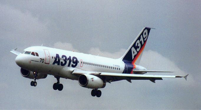 {:en}Directory of aircraft / Airbus A319